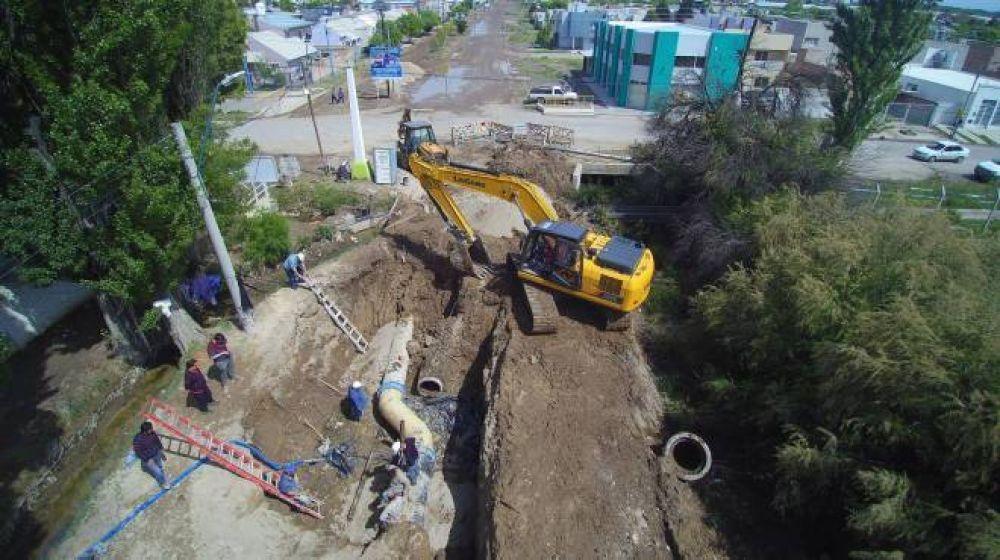 Tras las obras, se normaliza el servicio de agua en Roca