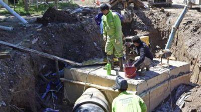 Roca complicada por el agua en un amplio sector de la ciudad