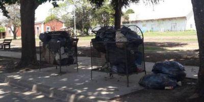 Preocupación en Maciel por la falta de recolección de residuos