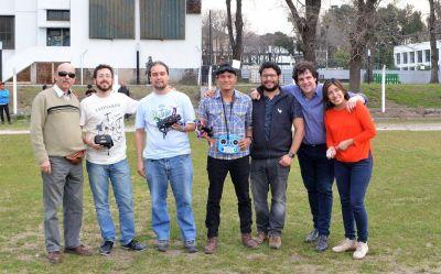 Ingeniería prepara la formación de una escudería de drones para competir en carreras