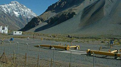 Argentina concretó el primer envío de gas natural a Chile después de una década
