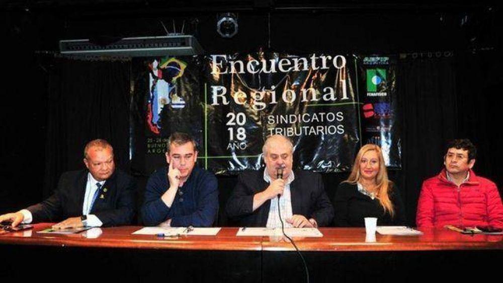 Se lanzó en Buenos Aires la Confederación de sindicatos impositivos regional