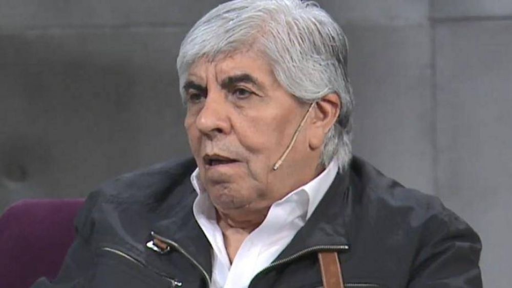 """Hugo Moyano, desafiante: """"Si quieren tomar una medida que lo hagan conmigo, pero no con mi hijo"""""""