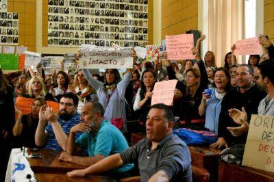 Los docentes municipales endurecen la medida de fuerza: no habrá clases jueves y viernes