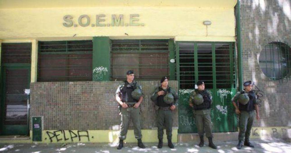 Desmantelan una banda delictiva en el intervenido SOEME