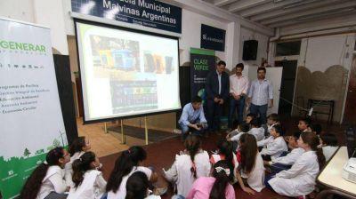 San Isidro: implementan en las escuelas un programa de concientización sobre el cuidado del ambiente