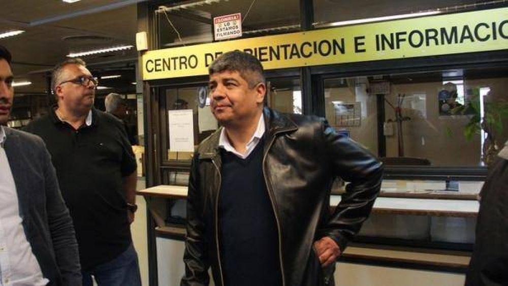 Pablo Moyano declaró ante el fiscal que investiga los negociados en Independiente: