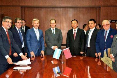 Entre Ríos firma acuerdo de financiamiento con China para obras de gas