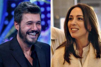 Televisión y política: Vidal y Tinelli cenaron juntos y hablaron de economía