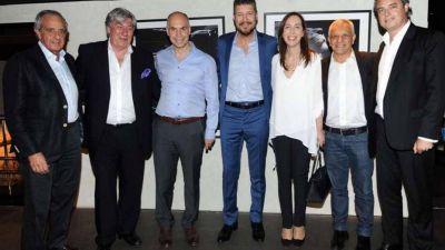 María Eugenia Vidal cenó con Marcelo Tinelli: hablaron de economía, política y fútbol