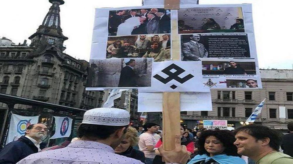 La DAIA pide que se investigue por antisemitismo a la marcha contra la ESI