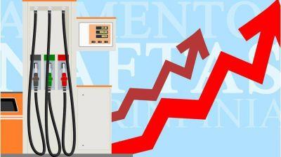 Advierten que, pese a los nuevos aumentos, las naftas
