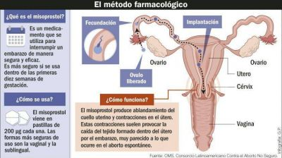 Cómo se produce en el país el misoprostol, la droga para realizar abortos seguros