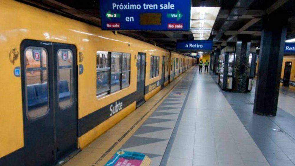 Metrodelegados levantaron el paro de la línea C para el lunes