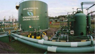 Petroamazonas inició las actividades de perforación en los campos Drago en Ecuador