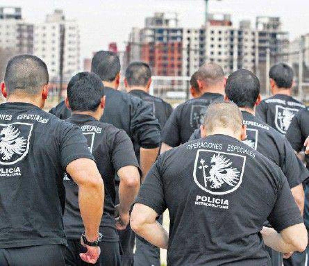 La policía de Macri tendrá una división antipiquetes