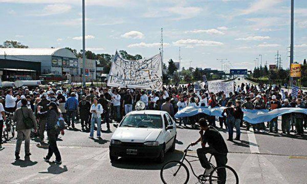 Kraft: anticipan otra jornada caótica por nuevas marchas a la empresa y en la Ciudad