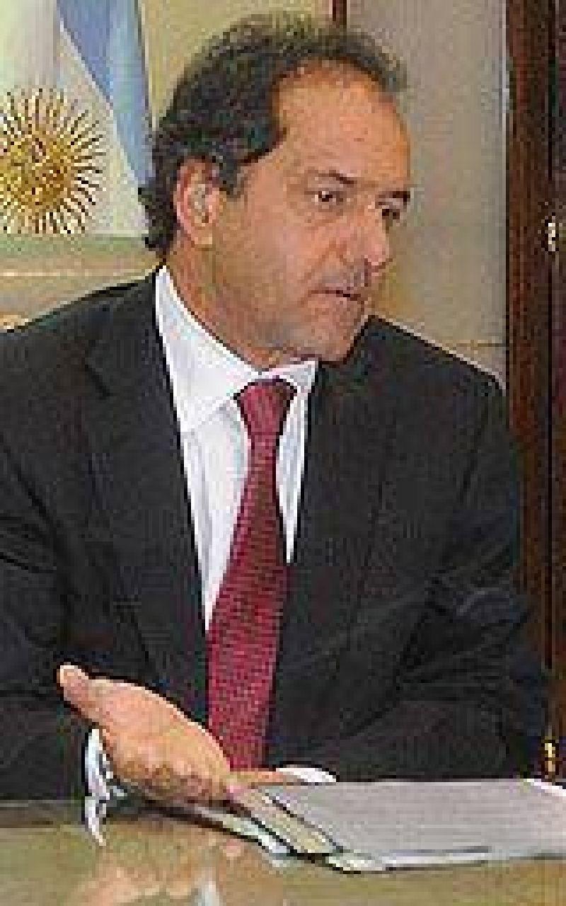 """Scioli sobre Kraft: """"Mañana habrá audiencia de conciliación"""""""