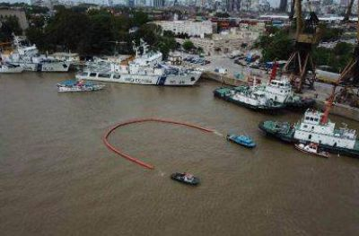 Puerto Buenos Aires realizó simulacro de derrame en dársena E