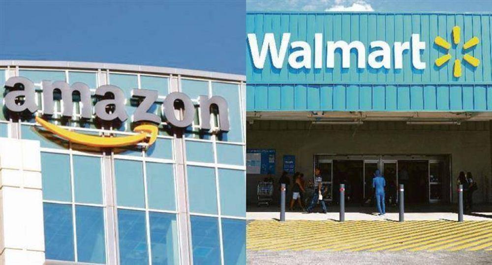 Walmart vs. Amazon: pelea sale de la web y va por tiendas físicas