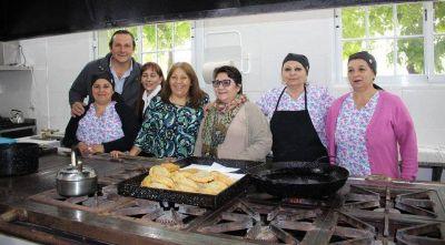 Etchevarren inauguró obras en el Hospital San Roques