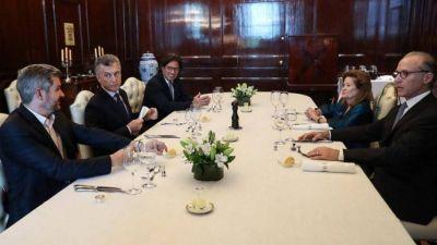 Macri recibió a Rosenkrantz y Highton de Nolasco en medio de las tensiones dentro de la Corte