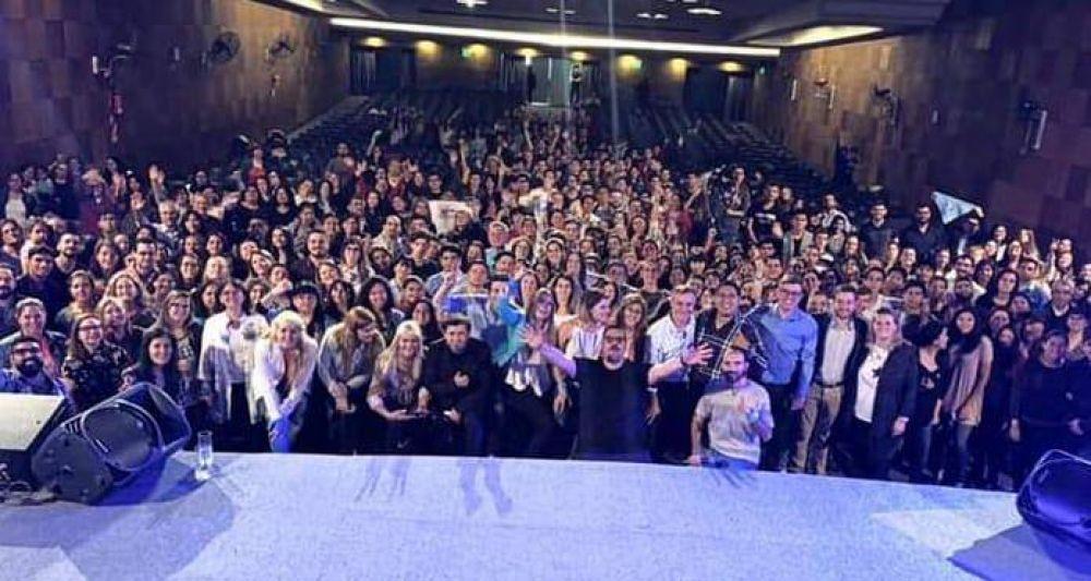 Centenares de militantes por la vida se reunieron en la Ciudad de Buenos Aires