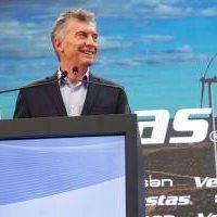 Macri visitó planta de ensamble de aerogeneradores en Campana y resaltó avances en energía renovable