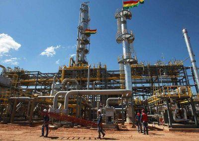 Bolivia negocia ampliar la venta de gas natural a la Argentina
