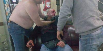 Brutal agresión de barrabrava de la Lista Granate Morada de Muerza en el Sindicato de Empleados de Comercio Capital