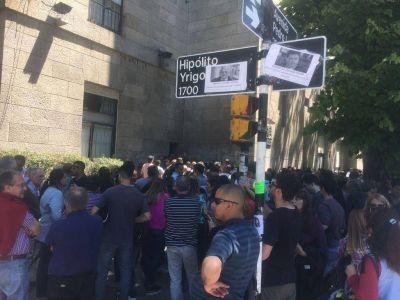 Por orden de Arroyo nadie pudo entrar ni salir del Palacio Municipal