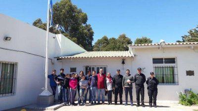La Autoridad del Agua provincial lleva tranquilidad a los vecinos de Santamarina