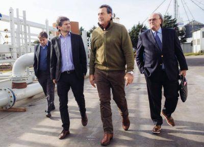 Ciano habló sobre la problemática en la falta de obras y la distribución de gas envasado