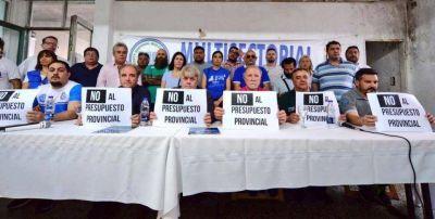 Sin los Moyano, el Frente Sindical Peronista puso primera en la Provincia