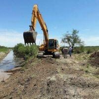 La provincia elabora un registro de canales y obras hidráulicas
