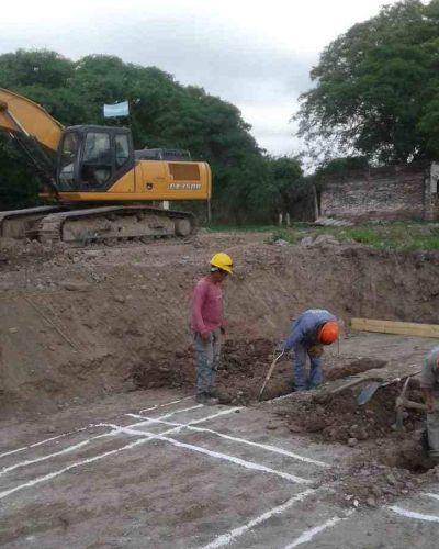 Avanza la obra de la nueva Planta Potabilizadora en Campo Santo