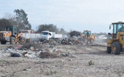 La Municipalidad levantó varias toneladas de basura de barrios