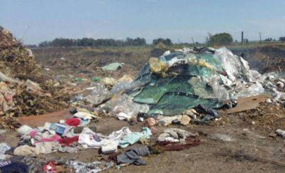 Cava en 2 de Abril: el Municipio limpiará un basural