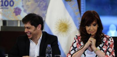 Cristina Kirchner mandó a medir a tres candidatos para la provincia de Buenos Aires