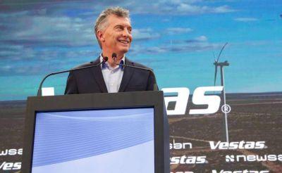 Argentina construye 63 parques de energía eólica