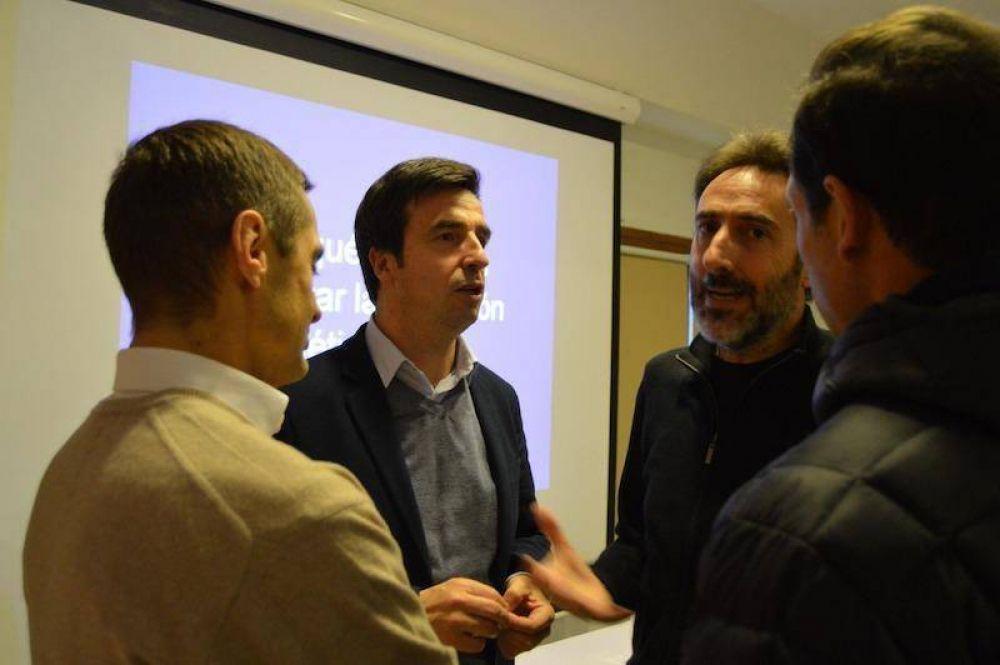 """Rubinos: """"Tierra del Fuego tiene mucho potencial en el sector de energías renovables"""""""