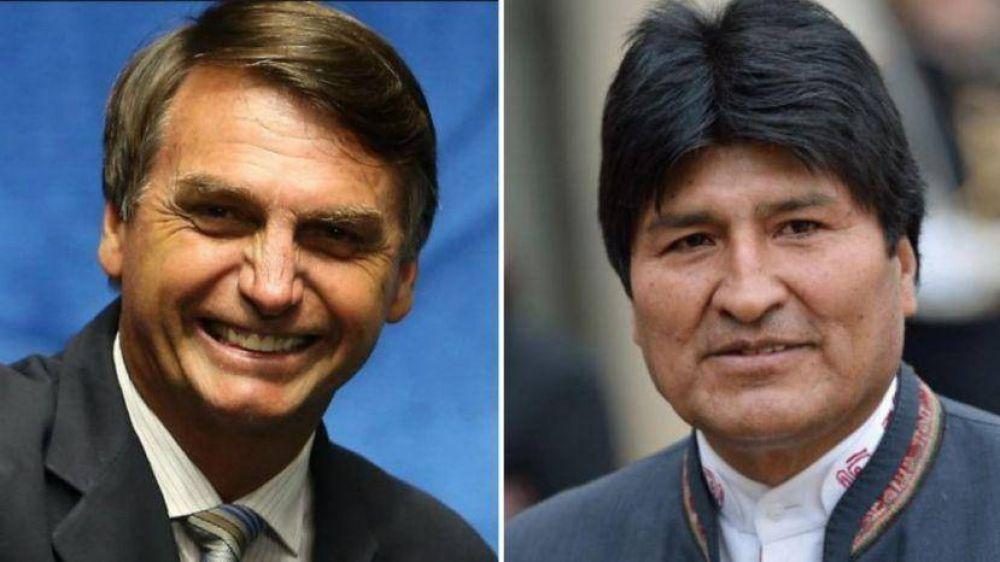 Negociaciones sobre gas pueden enfrentar a Bolsonaro y Morales