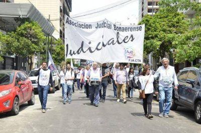 Judiciales bonaerenses preparan un paro este miércoles con una caravana hacia la Suprema Corte