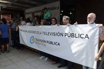 Más 14 meses sin paritaria ponen en peligro los noticieros de la TV Pública