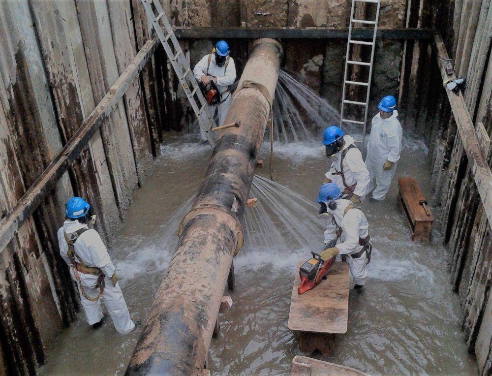 AySA tiene nueva estación elevadora de agua potable en la planta potabilizadora General Belgrano de Bernal