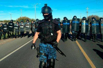 La protesta del SUPA terminó con detenidos