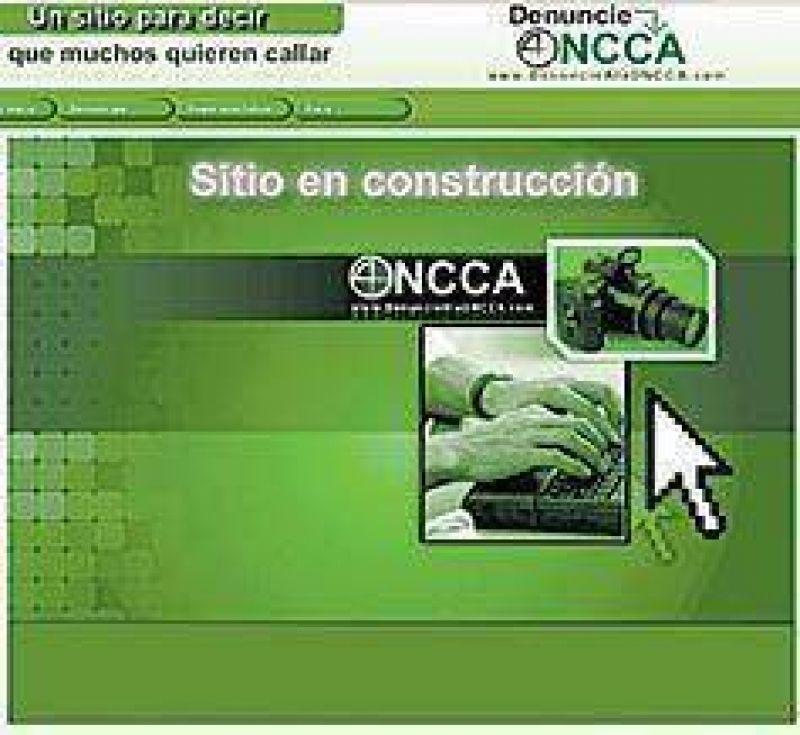 Legisladores abren un sitio web para denuncias sobre la ONCCA