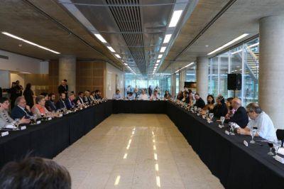 El gobierno de la Ciudad abrió sus puertas para el tradicional almuerzo interreligioso