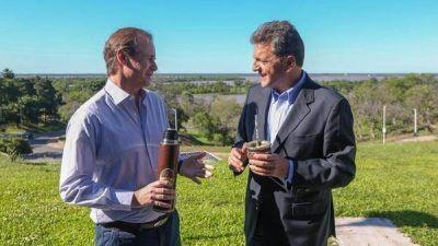 Sergio Massa y Gustavo Bordet se reunieron en Entre Ríos para avanzar en la construcción de una alternativa electoral