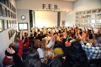 Los docentes evalúan la fecha de un nuevo paro por el presupuesto bonaerense